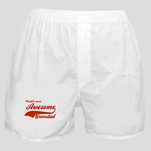 World's Most Awesome Grand dad Boxer Shorts
