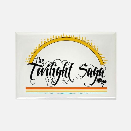 Isle Twilight Rectangle Magnet