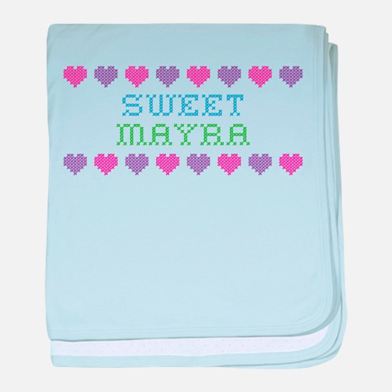 Sweet MAYRA baby blanket