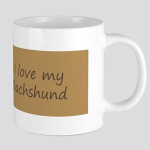 Dachshund (Wirehaired) 20 oz Ceramic Mega Mug
