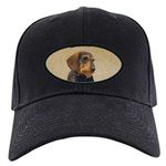 Dachshund (Wirehaired) Black Cap with Patch