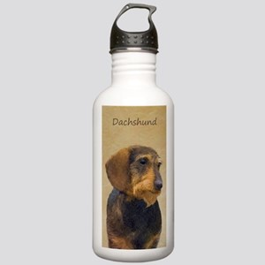 Dachshund (Wirehaired) Stainless Water Bottle 1.0L