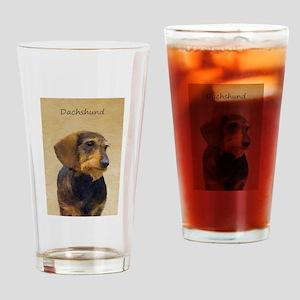 Dachshund (Wirehaired) Drinking Glass