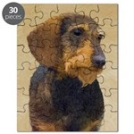Dachshund (Wirehaired) Puzzle
