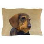 Dachshund (Wirehaired) Pillow Case