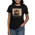 Dachshund (Wirehaired) Women's Dark T-Shirt