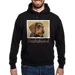 Dachshund (Wirehaired) Hoodie (dark)