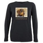Dachshund (Wirehaired) Plus Size Long Sleeve Tee