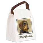 Dachshund (Wirehaired) Canvas Lunch Bag
