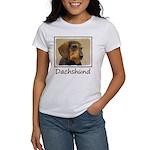 Dachshund (Wirehaire Women's Classic White T-Shirt