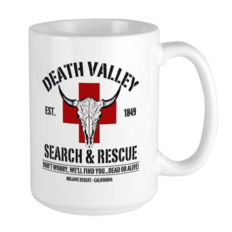 DEATH VALLEY SEARCH & RESCUE Large Mug