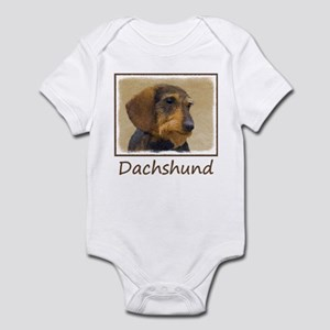 Dachshund (Wirehaired) Infant Bodysuit