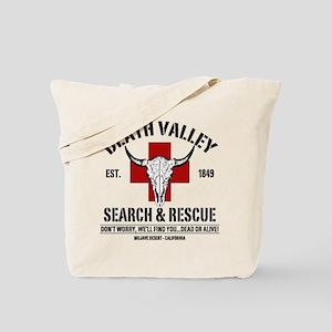 DEATH VALLEY SEARCH & RESCUE Tote Bag