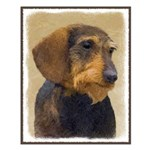 Dachshund (Wirehaired) Small Poster