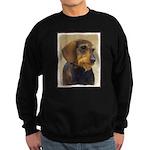 Dachshund (Wirehaired) Sweatshirt (dark)