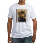 Dachshund (Wirehaired) Fitted T-Shirt