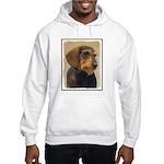 Dachshund (Wirehaired) Hooded Sweatshirt