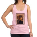 Dachshund (Wirehaired) Racerback Tank Top