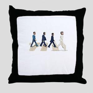 fdr to Obama Throw Pillow