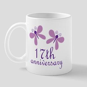 17th Anniversary (Wedding) Mug