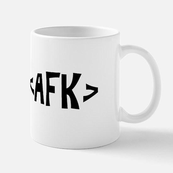 Cute Afk gamer Mug