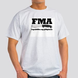 FMA Republika Ash Grey T-Shirt