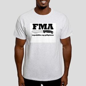 FMA Republika Ash Grey T-Shirt