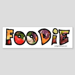 Foodie, food drink lover Sticker (Bumper)