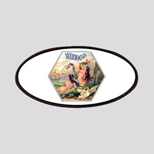 Mermaids Cigar Label Patches