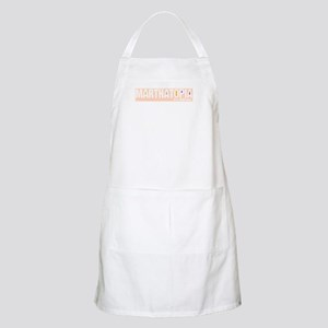 MARTHATOPIA - It's a Good Place!  BBQ Apron