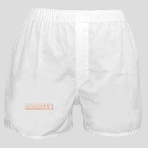 MARTHATOPIA - It's a Good Place!  Boxer Shorts