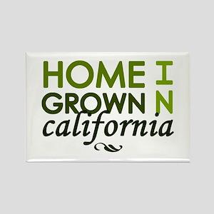 'California' Rectangle Magnet