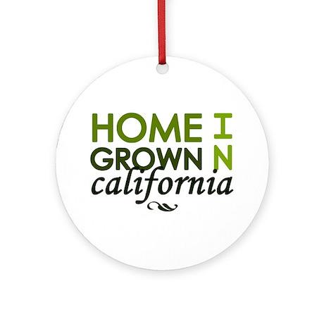 'California' Ornament (Round)