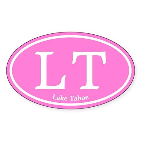 LT Lake Tahoe Sticker (Oval)