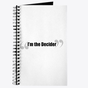 The Decider in Quotes Journal