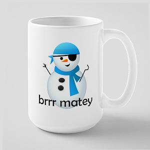 Brrr Matey! Large Mug
