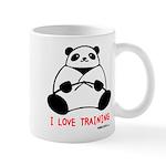 I Love Training: Panda Mug