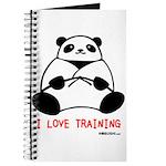 I Love Training: Panda Journal