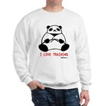 I Love Training: Panda Sweatshirt