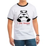 I Love Training: Panda Ringer T