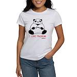 I Love Training: Panda Women's T-Shirt