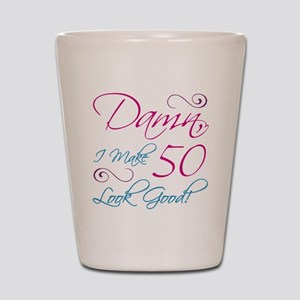 50th Birthday Humor Shot Glass