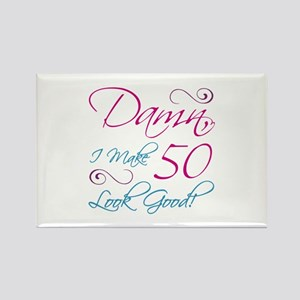 50th Birthday Humor Rectangle Magnet