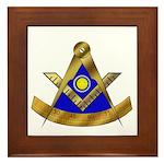 Masonic PM w/Square Framed Tile