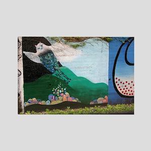Helaine's Japan Graffiti II Rectangle Magnet