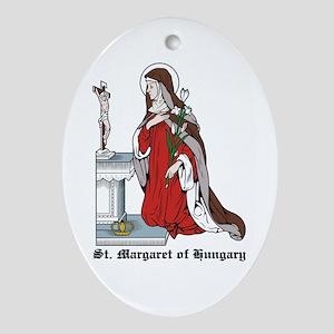 St. Margaret Oval Ornament