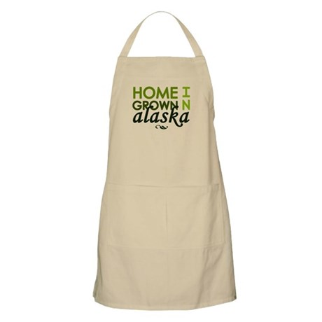 'Home Grown In Alaska' Apron