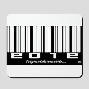 2012 Bar Code Mousepad