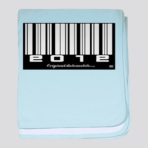 2012 Bar Code baby blanket