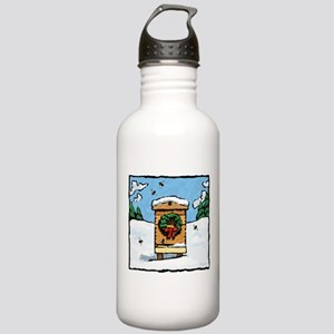 Christmas Bees Stainless Water Bottle 1.0L